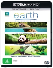 Earth - One Amazing Day | Blu-ray + UHD