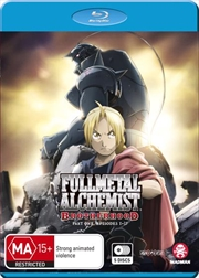 Fullmetal Alchemist - Brotherhood Series - Part 1 - Eps 1-35