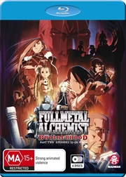 Fullmetal Alchemist - Brotherhood Series - Part 2 - Eps 36-64