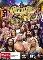 WWE - Wrestle Mania 2018 | DVD