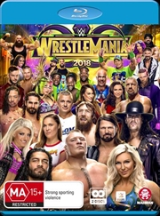 WWE - Wrestle Mania 2018