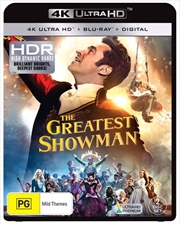 Greatest Showman | Blu-ray + UHD + DHD, The
