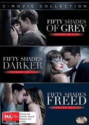 Fifty Shades Of Grey / Fifty Shades Darker / Fifty Shades Freed | UV - Triple Franchise Pack