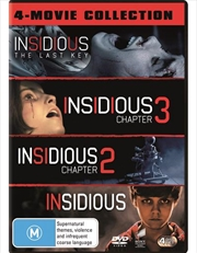 Insidious / Insidious - Chapter 2 / Insidious - Chapter 3 / Insidious - The Last Key | 4 Pack - Fran
