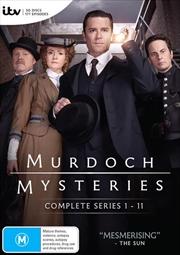 Murdoch Mysteries - Series 1-11 | Boxset