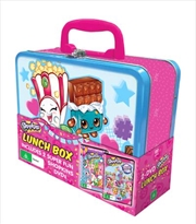 Shopkins - Chef Club - Party Edition / World Vacation | Lunchbox Pack | DVD