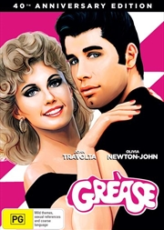 Grease - 40th Anniversary Edition | DVD