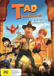 Tad The Lost Explorer And The Secret Of King Midas | DVD