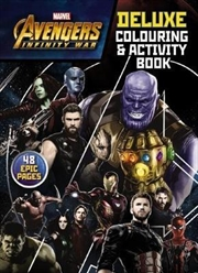 Avengers Infinity War - Deluxe Colouring And Activity Book