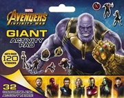 Marvel Avengers Infinity War: Giant Activity Pad | Paperback Book