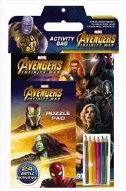 Marvel Avengers Infinity War: Activity Bag | Paperback Book