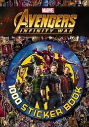 Avengers Infinity War: 1000 Sticker Book | Paperback Book