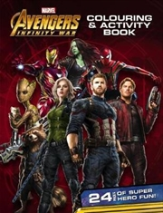 Avengers Infinity War: Colouring & Activity Book | Paperback Book