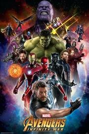 Avengers Infinity War - Space
