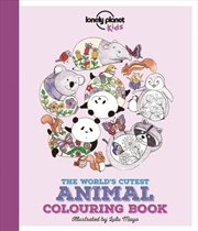 The World's Cutest Animal Colouring Book | Paperback Book