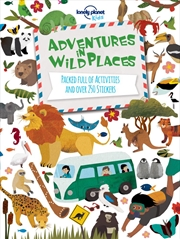 Adventures in Wild Places, Activities and Sticker Books | Paperback Book