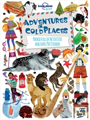 Adventures in Cold Places, Activities and Sticker Books | Paperback Book