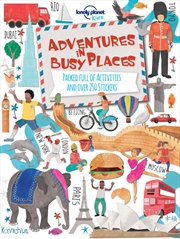 Adventures in Busy Places, Activities and Sticker Books | Paperback Book