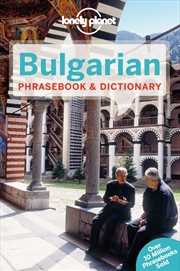 Lonely Planet Bulgarian Phrasebook | Paperback Book