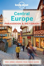 Central Europe Phrasebook And Dictionary