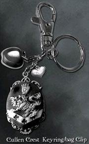 Twilight - Key Ring / Bag Clip Cullen Crest
