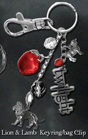 Twilight - Key Ring / Bag Clip Lion And Lamb | Accessories
