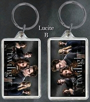 Twilight - Lucite Keychain B The Cullens | Accessories