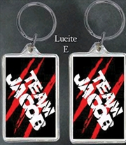 Twilight - Lucite Keychain E Team Jacob | Accessories