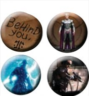 Watchmen - Pin Set Of 4 Behind You