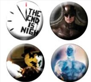Watchmen - Pin Set Of 4 End Is Nigh