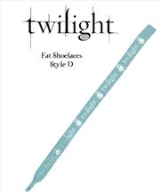 Twilight - Fat Shoelaces (D) Logo Crest | Apparel