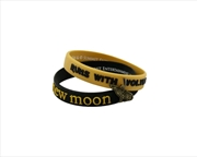 The Twilight Saga: New Moon - Jewellery Bracelet Rub Set Runs with Wolves | Apparel