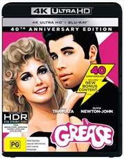 Grease - 40th Anniversary Edition | Blu-ray + UHD