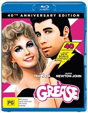 Grease - 40th Anniversary Edition | Blu-ray
