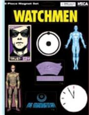 Watchmen - Magnet Sheet Dr Manhattan And  Ozymandias