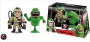"Ghostbusters - Venkman And Slimer 4"" Metals - 2 Pack Wave 1 | Merchandise"