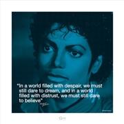Michael Jackson - i Quote Despair Print | Merchandise