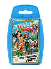 Dc Superhero Girls - Top Trumps
