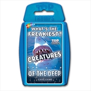 Creatures Of The Deep - Top Trumps