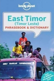 Lonely Planet East Timor Phrasebook | Paperback Book