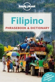 Lonely Planet Filipino (Tagalog) Phrasebook And Dictionary | Paperback Book