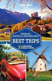 Lonely Planet Germany, Austria And Switzerland's Best Trips | Paperback Book