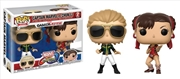 Captain Marvel And Chun-Li  2 Pack