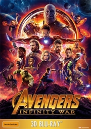 Avengers - Infinity War (3D + 2D Bluray)