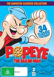 Popeye The Sailor Man - The Animated Classics | Collection
