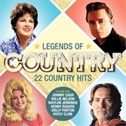 Legends Of Country - Volume 1 | CD