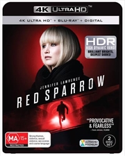 Red Sparrow | Blu-ray + UHD + DHD