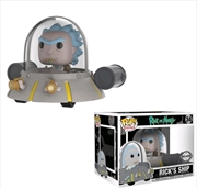 Rick and Morty - Rick's Ship US Exclusive Pop! Ride