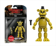 Five Nights At Freddy's - Gold Freddy Articulated Action Figure