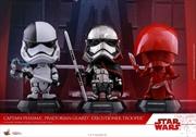 Star Wars - First Order Episode VIII The Last Jedi Cosbaby Set of 3 | Merchandise